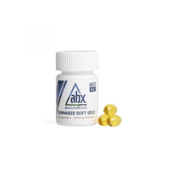 Buy 100mg THC Soft Gels (ABX) Online