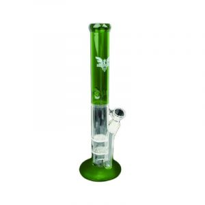 Buy 17″ TALL OIL CAN BONG WITH 2 HONEYCOMB DIFFUSERS & ICE PINCH