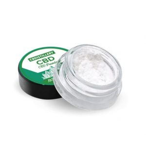 Buy 99+% Pure CBD Isolate Powder (Crystalline) from Hemp Online